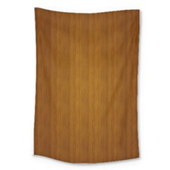 Simple Wood Widescreen Large Tapestry
