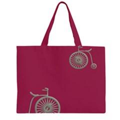 Rose Pink Fushia Large Tote Bag