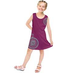 Rose Pink Fushia Kids  Tunic Dress