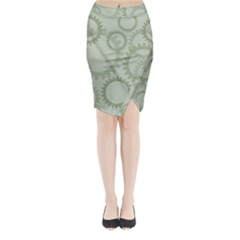 Engenerinhg Midi Wrap Pencil Skirt