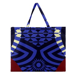 Formation Thumb Zipper Large Tote Bag
