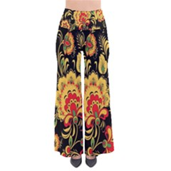 Flower Yellow Green Red Pants