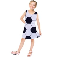 Foolball Ball Sport Soccer Kids  Tunic Dress