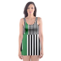 Girl Collective Artists Skater Dress Swimsuit