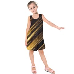 Gold Kids  Sleeveless Dress