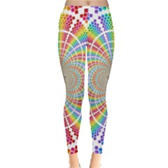 Color Background Structure Lines Leggings