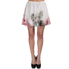 Elephant Heart Plush Vertical Toy Skater Skirt
