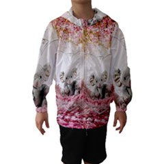 Elephant Heart Plush Vertical Toy Hooded Wind Breaker (kids)