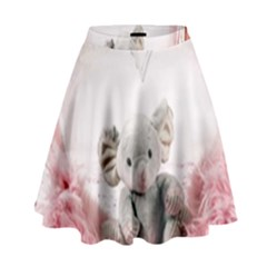 Elephant Heart Plush Vertical Toy High Waist Skirt