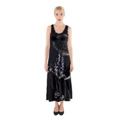 Jellyfish Underwater Sea Nature Sleeveless Maxi Dress