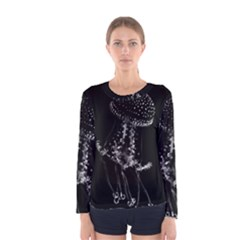 Jellyfish Underwater Sea Nature Women s Long Sleeve Tee
