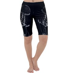 Jellyfish Underwater Sea Nature Cropped Leggings