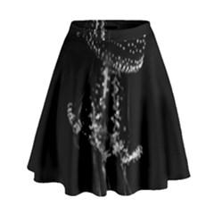 Jellyfish Underwater Sea Nature High Waist Skirt