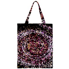 Mosaic Colorful Abstract Circular Zipper Classic Tote Bag