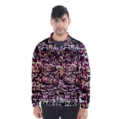 Mosaic Colorful Abstract Circular Wind Breaker (Men)