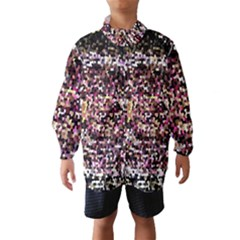 Mosaic Colorful Abstract Circular Wind Breaker (kids)