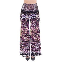Mosaic Colorful Abstract Circular Pants