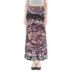 Mosaic Colorful Abstract Circular Maxi Skirts