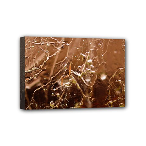 Ice Iced Structure Frozen Frost Mini Canvas 6  X 4
