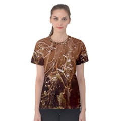 Ice Iced Structure Frozen Frost Women s Cotton Tee