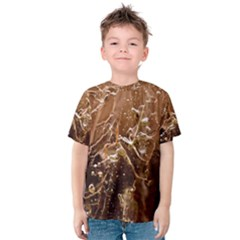 Ice Iced Structure Frozen Frost Kids  Cotton Tee