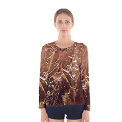 Ice Iced Structure Frozen Frost Women s Long Sleeve Tee