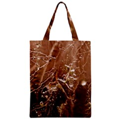 Ice Iced Structure Frozen Frost Zipper Classic Tote Bag