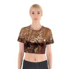 Ice Iced Structure Frozen Frost Cotton Crop Top