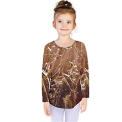Ice Iced Structure Frozen Frost Kids  Long Sleeve Tee