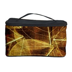 Leaves Autumn Texture Brown Cosmetic Storage Case