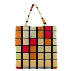 Mozaico Colors Glass Church Color Grocery Tote Bag