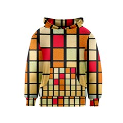 Mozaico Colors Glass Church Color Kids  Pullover Hoodie