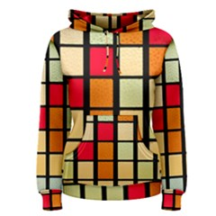 Mozaico Colors Glass Church Color Women s Pullover Hoodie
