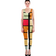 Mozaico Colors Glass Church Color Onepiece Catsuit