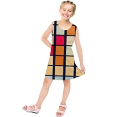Mozaico Colors Glass Church Color Kids  Tunic Dress