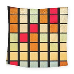 Mozaico Colors Glass Church Color Square Tapestry (large)