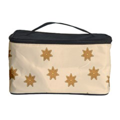 Pattern Gingerbread Star Cosmetic Storage Case