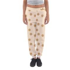 Pattern Gingerbread Star Women s Jogger Sweatpants