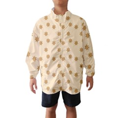 Pattern Gingerbread Star Wind Breaker (kids)