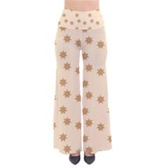 Pattern Gingerbread Star Pants