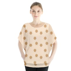 Pattern Gingerbread Star Blouse