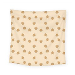 Pattern Gingerbread Star Square Tapestry (small)