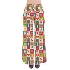 Pattern Christmas Patterns Pants