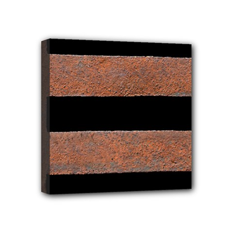 Stainless Rust Texture Background Mini Canvas 4  X 4