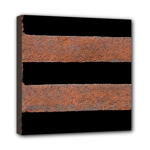 Stainless Rust Texture Background Mini Canvas 8  X 8