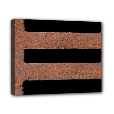 Stainless Rust Texture Background Canvas 10  X 8