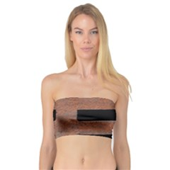 Stainless Rust Texture Background Bandeau Top