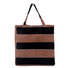 Stainless Rust Texture Background Grocery Tote Bag