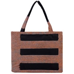Stainless Rust Texture Background Mini Tote Bag
