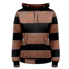 Stainless Rust Texture Background Women s Pullover Hoodie